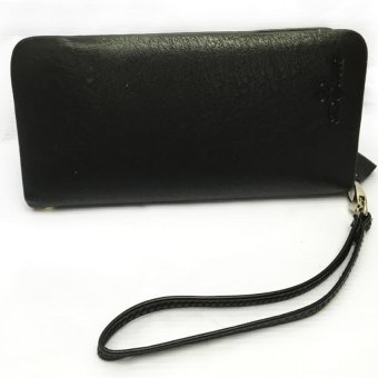 Unisex Long Wallet (Black) Price Philippines