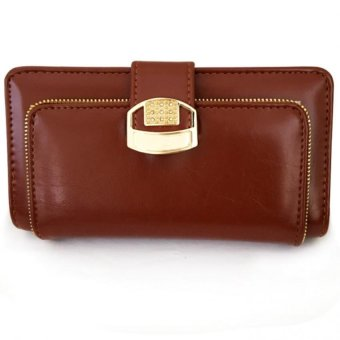 Unisex Long Wallet (coffee) Price Philippines
