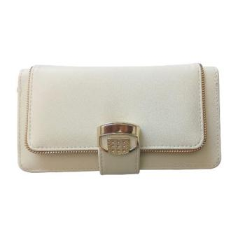 unisex long wallet (off white )