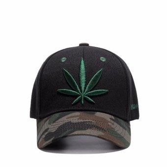 Unisex Men Women Hats Caps Baseball Cap Leisure Joker Sun Hat - intl - 4
