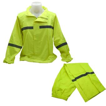 Unisex Raincoat for Adult (Neon Green)