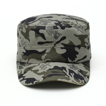 Unisex Sun Visor Army Camouflage Military Soldier Hats Jungle Caps