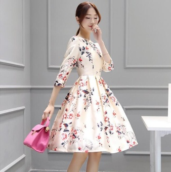 UR A word skirt short sleeved dress - intl - 2