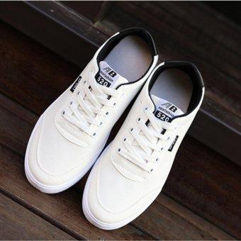 UR Sneakers men canvas shoes (white) - intl - 3