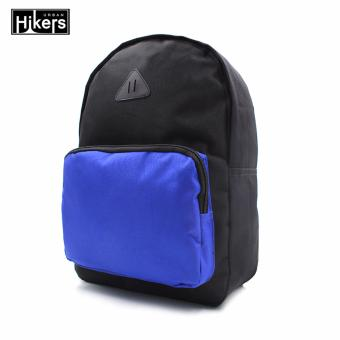 Urban Hikers Halsey Casual Backpack (Black/Blue)