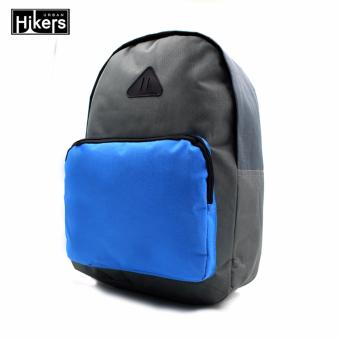 Urban Hikers Halsey Casual Backpack (Grey/Blue)