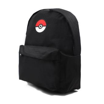 Urban Hikers Pokemon Casual Daypack Backpack (Black)