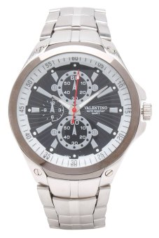 Valentino Men's Silver Stainless Steel Band Watch 20121834