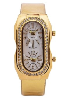 Valentino Women's Gold Leather Strap Watch 20121755