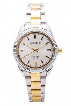 Valentino Women's Watch 20121678 (Two Tone/Silver Dial)