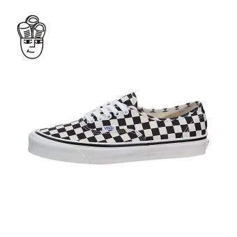 Vans Authentic 44 DX (Anaheim Factory) Lifestyle Shoes Black / Checkerboard vn0a38enoak -SH - 2