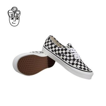 Vans Authentic 44 DX (Anaheim Factory) Lifestyle Shoes Black / Checkerboard vn0a38enoak -SH