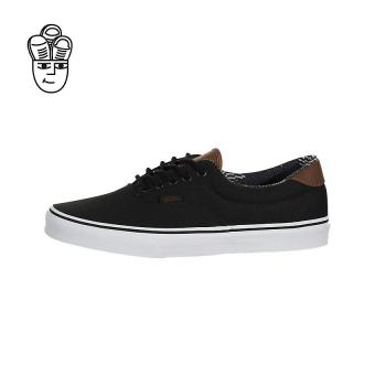 Vans Era 59 (C&L) Lifestyle Shoes Black / Material Mix vn0a38fsmmk -SH