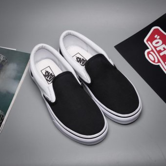 Vans.Unisex Old Skool (Classic black and white models) Skate Shoe - intl