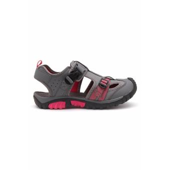 Vertigo Terra Sandals (Gray/Pink) - 2