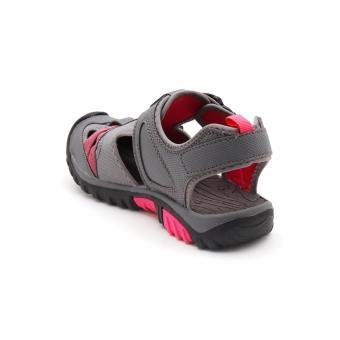 Vertigo Terra Sandals (Gray/Pink) - 3