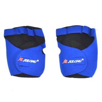 VeryGood Julong MT-713 Fitness Gloves Support (Blue)for bicyclemotorcycle sport Fitness/volleyball/football/basketball