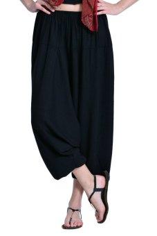 Viajeras Thai Harem Pants (Black)