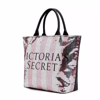 Victoria's Secret Black Friday Sequin Tote Bag (Pink) - 2