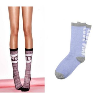 Victoria's Secret LOVE PINK Crew Socks