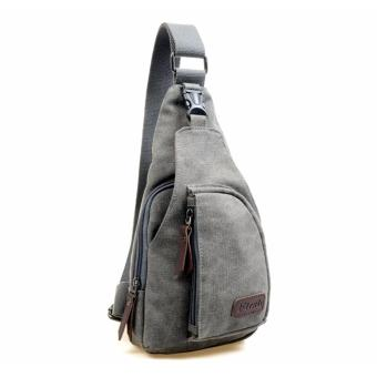 7b88f6431a Price Yslmy Mens Canvas Casual Messenger Shoulder Bag Grey Intl ...