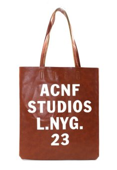 Vintage Paris ACNF Tote Bag (Brown)