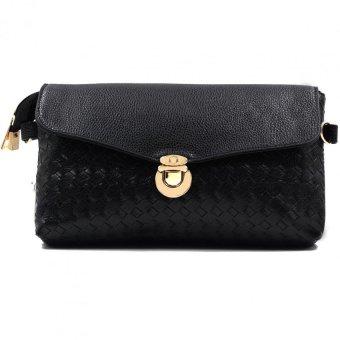 Vintage Paris Maxine Cross Body Sling Bag/Wristlet (Black)