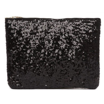 Vococal Bling Sequins Purse (Black)