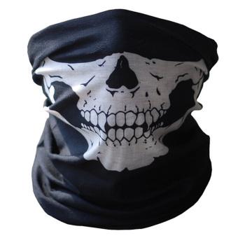 Vococal Skull Tubular Protective Dust Mask (Black)