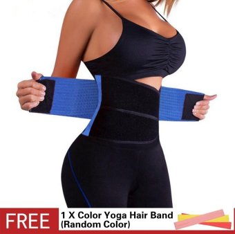 Waist Trainer Corsets Hot Shapers Belt Women Slimming Body Shaper Bodysuit Trimmer Belts Shapewear Corrective Modeling Strap Tummy Girdle Firm Control - intl