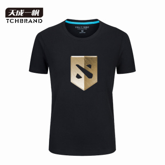 Warrior dota2 tournament-like T-shirt (Black 2)
