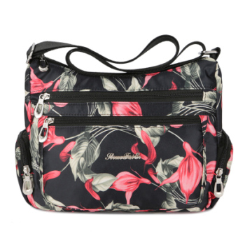 Waterproof Oxford Cloth New style shoulder bag (Trumpet flower)