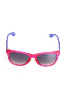 Wayth OR14014 Fashionable Colorful Unisex Sunglasses with PC Spectacles Frame + PC Lens (Red) - picture 2