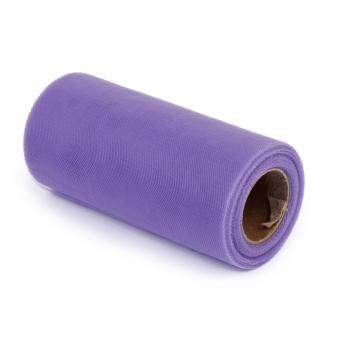 Wedding Bow Fabric Tulle Roll (Light Purple) - picture 2