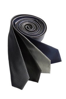 Well Suited Solid Stripe Slim Necktie Combo C - picture 1
