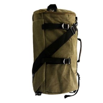 William's Backpack/Sling Unisex Canvas Bag (Brown)