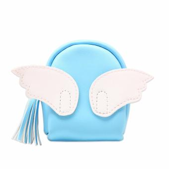 Wings Backpack Pouch (Blue) Price Philippines