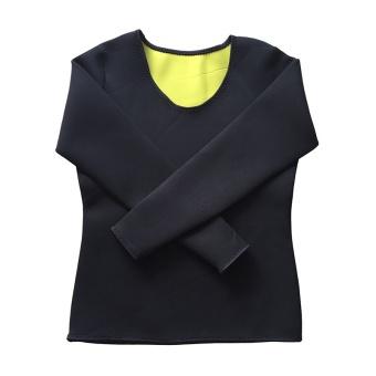 Women & Men Body Shaper Long Sleeve Slimming Neoprene Hot Sweat Shirt for Weight Loss Best Wear in Gym/Fitness/Running/Yoga/Zumba - intl - 5