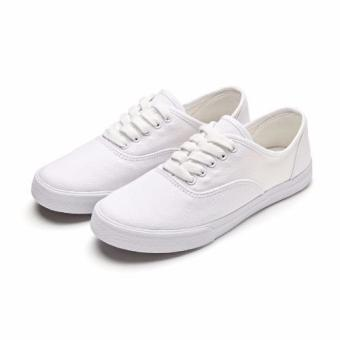 Women Canvas Sneakers Shoes Buy 1 Take 1 - Blue and White - 3