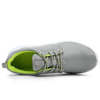 Women Casual Fashion Skater Shoes - Grey - picture 2