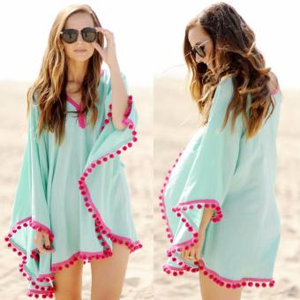 Women Chiffon Bikini Cover-Up Swimwear Beach Dress