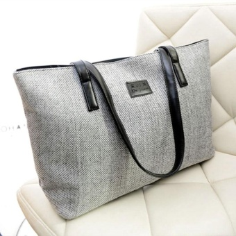 Women Handbag Hobo Shoulder Tote Purse Large Capacity Satchel Casual Bag - intl