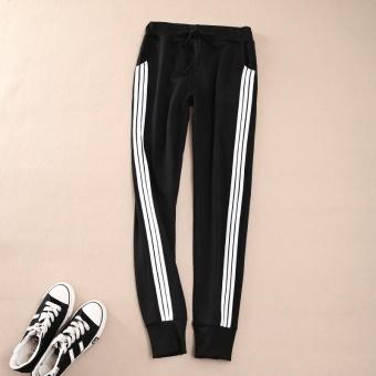 Women Ladies Casual Sport Pant Elastic Waist Trousers RunningJogging Plus Size - intl - 3