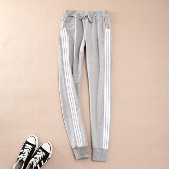 Women Ladies Casual Sport Pant Elastic Waist Trousers RunningJogging Plus Size - intl - 4
