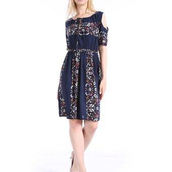 Women Maxi Dress Short Sleeve Plus Size 6XL Bodycon Party Dresses - intl - 4