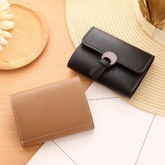 Women Simple Three Folded Coin Purse Small Wallet Pocket Credit Cards Organizer - intl - 5