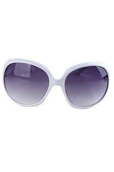 Women Vintage RoSun Glasses White