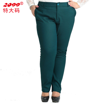 Women with pockets Plus-sized Pants pants