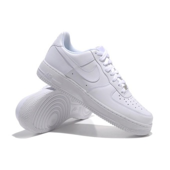 Women's Basketball Shoes For Air-Force+1 White Low - intl
