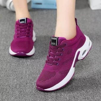 Women's Casual Low Cut Fashion Breathable Comfortable Shoes Sneaker Sport Running Walking Hiking Shoes - intl